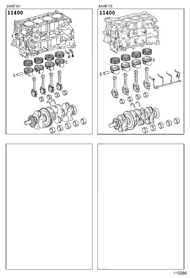 Lexus Nx 300h Block Assembly  Short  Engine