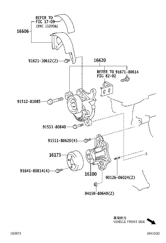 Lexus Hs 250h Accessory Drive Belt Tensioner