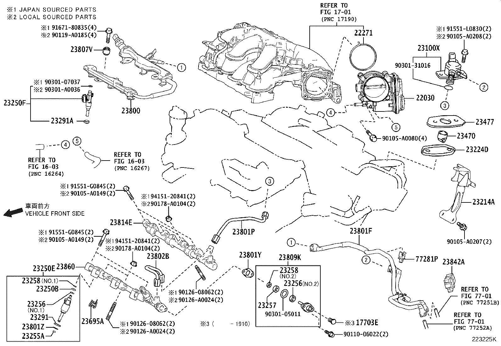 Lexus Rx 350 Fuel Injector  Injector Set  Fuel  Injector  Fuel  For Port