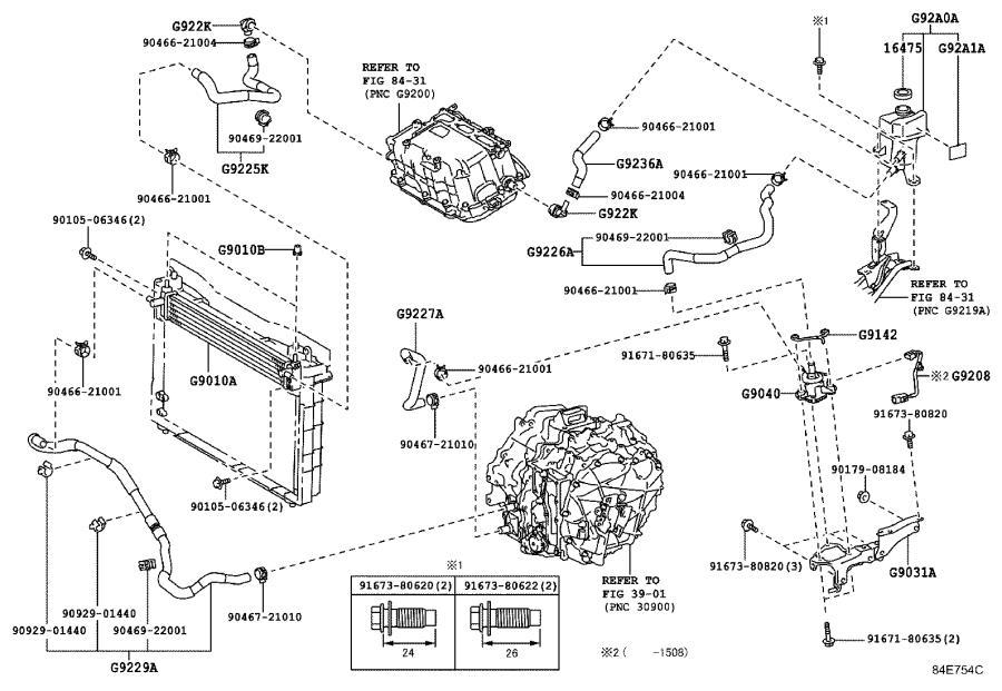 Lexus Ct 200h Radiator Assembly  Inverter  Electrical