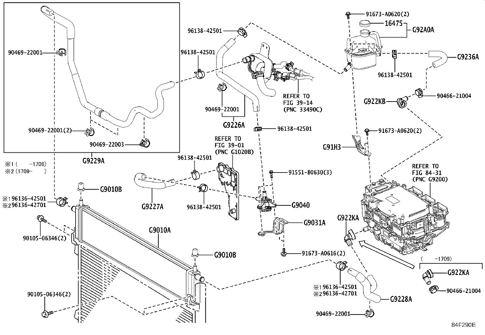 Lexus Nx 300h Hose  Inverter Cooling  No  3  Electrical
