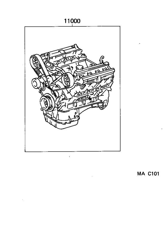 Lexus Ls 400 Cord  Spark Plug Resistive  No  6  Engine