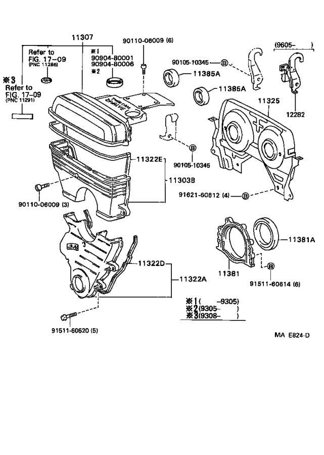 Lexus GS 300 Engine Timing Cover - 1130246031 | Rallye ...