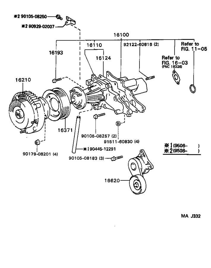 Lexus GS 300 Engine Coolant Pipe - 9044512291 | Rallye ...