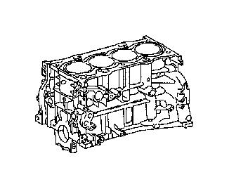 Lexus Nx 300h Engine Short Block  Assembly