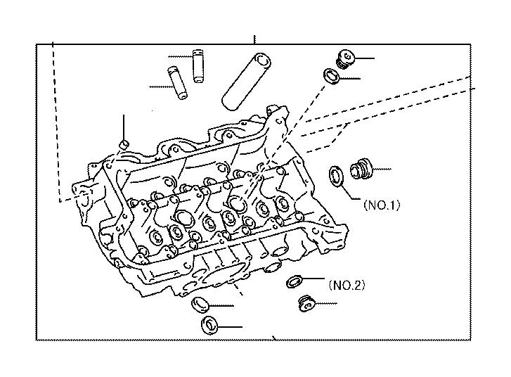 Lexus Nx 300h Seat  Intake Valve  Head  Cylinder  Cover