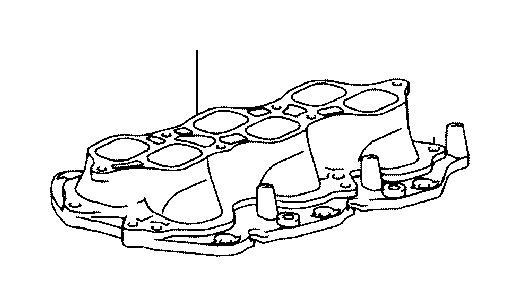 Lexus Lx 470 Engine Intake Manifold  Engine Component That