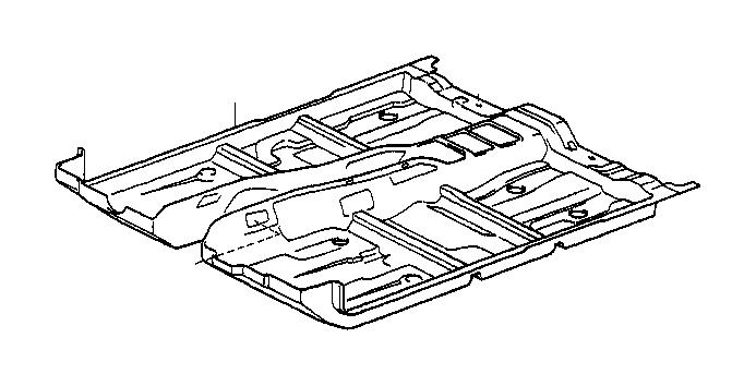 lexus ls 400 carpet assembly  front floor  front  black