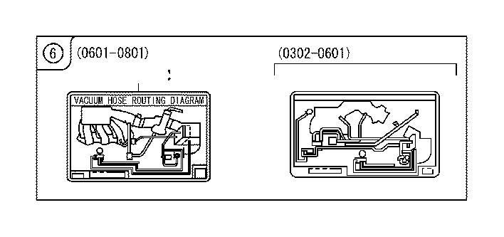 Lexus Rx 350 Engine Decal  Engine Sticker  Label  Engine