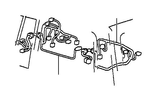 Lexus Lx 470 Wire  Front Door  Right  Engine  Clamp