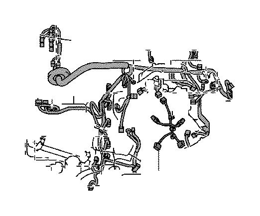 Lexus Gx 460 Wire  Sensor  Panel  Engine  Instrument