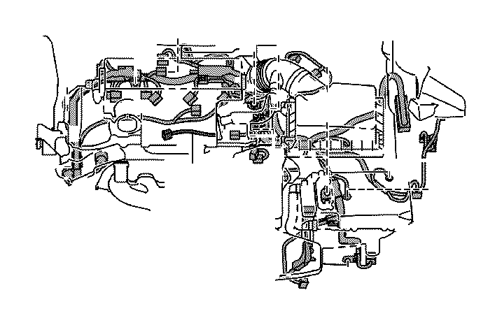 Lexus Es 300h Wire  Sensor  Engine  Connector  Clamp