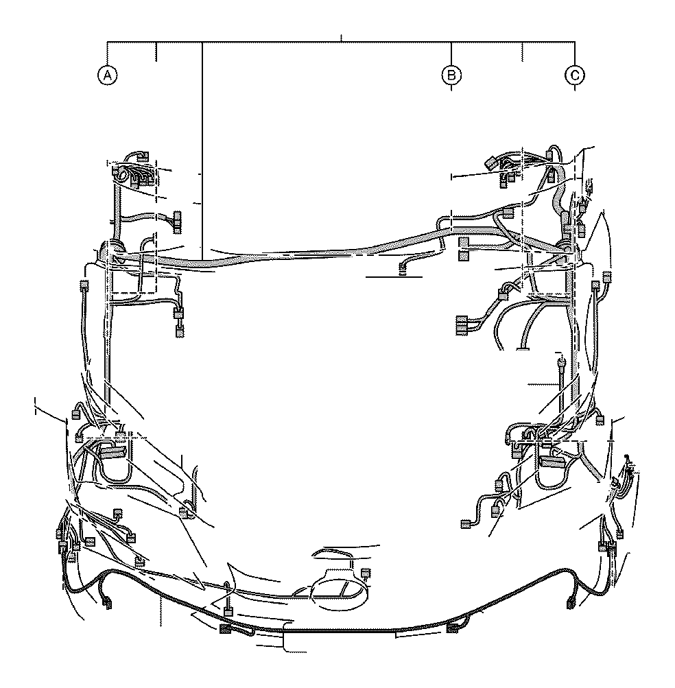 Lexus NX 200t Wire, Engine Room, No. 3. Clamp, Cable