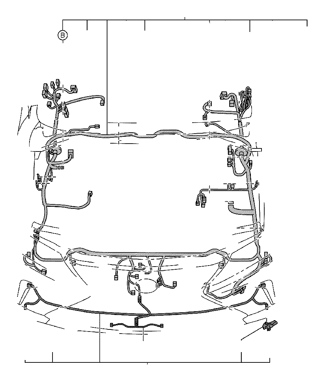 Lexus Lx 570 Wire  Engine Room  No  4  Panel  Box